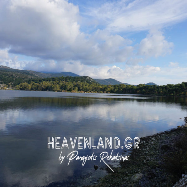 Υγροβιότοπος Κούταβου Λίμνη Πτηνά Σύννεφα Αργοστολί Κεφαλονιάς