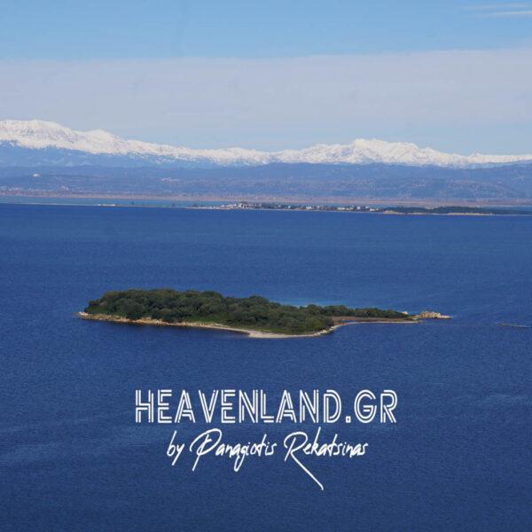 Νήσος Κέφαλος.Αμβρακικός Κόλπος.