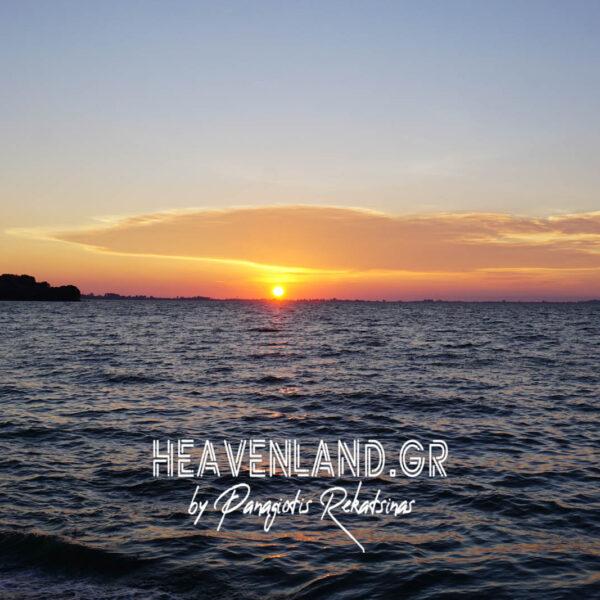 Ηλιοβασίλεματα Φεβρουάριος 21 Νέα Καμαρίνα Βόνιτσα Αιτ/νίας