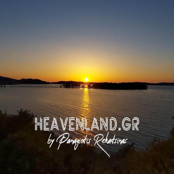 Νησάκι Κουκουμίτσα Ηλιοβασίλεματα Βόνιτσα Αιτ/νίας Κ21