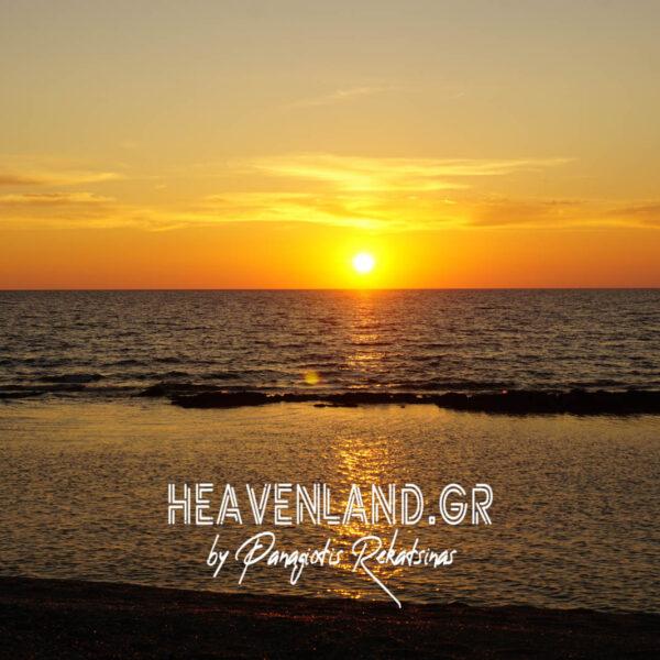 Βάγια Παραλία Αιτ/νίας Ηλιοβασίλεμα Κ21